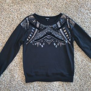 Express Embellished Sweatshirt